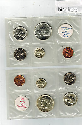 1964-P-D Uncirculated Mint Set --Not U.S. Mint