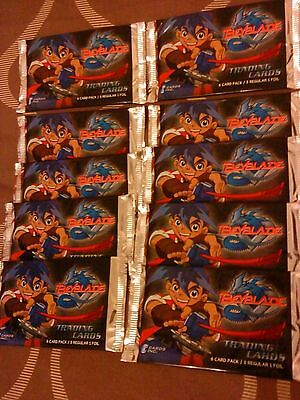 Beyblade Trading Cards - X 10 New & Sealed Packets - Job Lot - Bundle