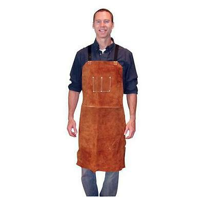 "Tillman  3836 24"" W x 36"" L Leather Bib Apron"