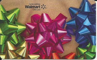 New Christmas 2016 Mint Gift Card From Walmart Canada # 3 Bilingual No Value