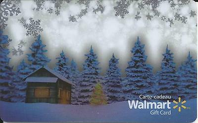 New Christmas 2016 Mint Gift Card From Walmart Canada # 5 Bilingual No Value