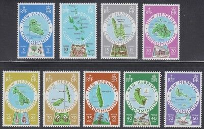NEW HEBRIDES,1977-78. Islands 238-250, Mint