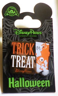 Disneyland Pin - Halloween - Trick or Treat - Monsters, Inc. - Mike & Sully