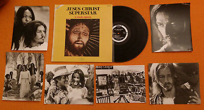 Jesus Christ Superstar - Lp 33 Tours -Vinyle -18 Photos De Presse En N/b - 1973