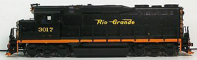 S Scale Brass Greenbrier Models D&RGW GP-30 Low Hood-Painted/DCC/Sound