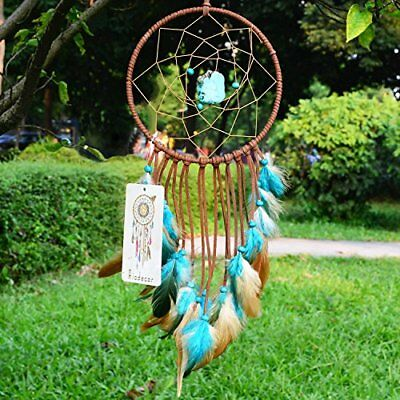 Ricdecor Indian Dream catcher Wind Chimes Feather Pendant wall hanging home
