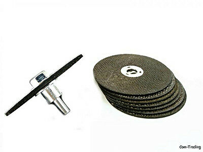 """3"""" Cut Off Discs Wheels With 1/4"""" Shank Mandrel For Metal Cutting Grinding Welds"""