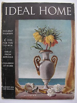 IDEAL HOME August 1955