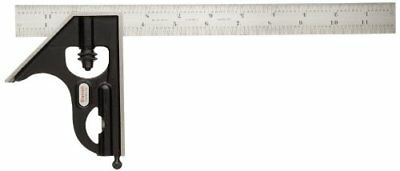 Starrett 33H-12-4R Forged, Hardened Steel Square Head With Regular Blade