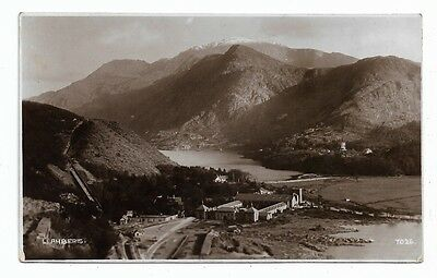 "[5186] Caernarvonshire R/P Postcard Llanberis ""General View"""