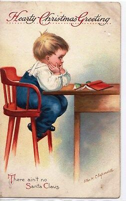 Clapsaddle  Christmas Postcard  collection children