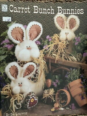 Pattern Quilt quilting CARROT BUNCH BUNNIES rabbit doll making Easter Country