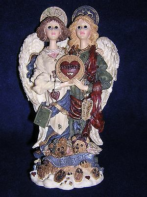Boyds Bears FOLKSTONE LE BEST FRIENDS ANGELS Constance & Felicity 1997 NEW