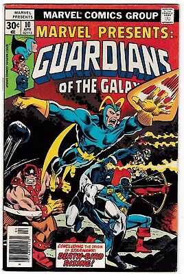 MARVEL PRESENTS #10 (FN) Guardians of the Galaxy! 2nd REAVERS Appearance!