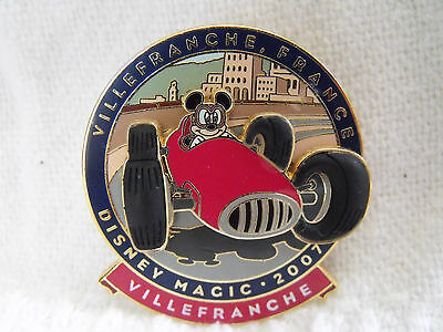 2007 Disney 3D Trading Pin DCL Mediterranean Cruise Villefranche France Mickey