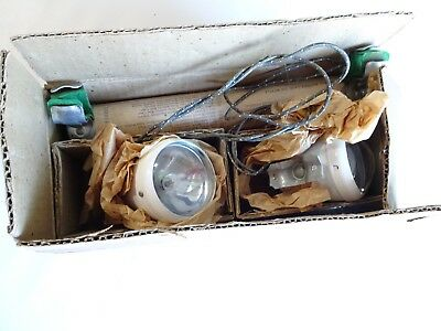 Vintage Seiss Bicycle Twin Light Set In Box With Tube *nos*