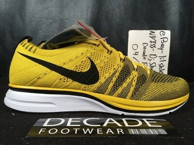 a930ec389393 Nike Flyknit Trainer 8-13 Bright Citron White Black Running Htm Ah8396 700