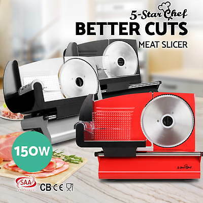 Food Meat Slicer Electric Deli Cutter Cheese Fruit Vegetables Bread Cutter 150W