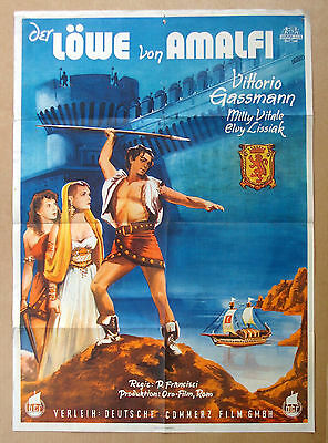 LION OF AMALFI Milly Vitale VITTORIO GASSMAN German POSTER