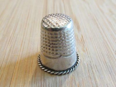 Sterling Silver Vintage Thimble ~ 4.1grams ~ 3-K6560