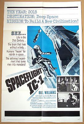 SPACEFLIGHT IC-1 Bill Williams 27x41 SF POSTER