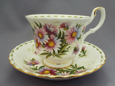Royal Albert *SEPTEMBER* Flower of the Month Cup and Saucer