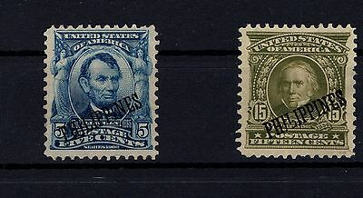 P33499/ Philippines / Usa Occupation / Sg # 272 - 277 Mint (*) 105 €