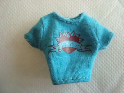 Bratz Doll Clothes Babyz Sitter Lana's Turquoise T Shirt From 2006