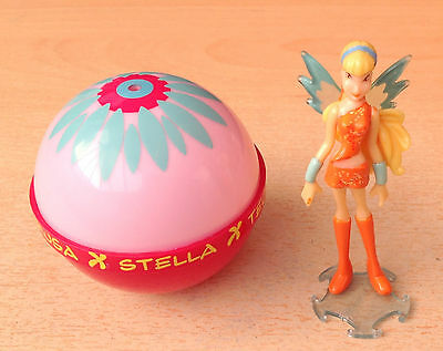 Winx Club Kinder egg doll Stella in Carry  Ball