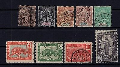 P37277/ French Congo / Maury # 7-Ii – 12 / 15 – 29 / 31 – 37 Oblitérés / Used 10