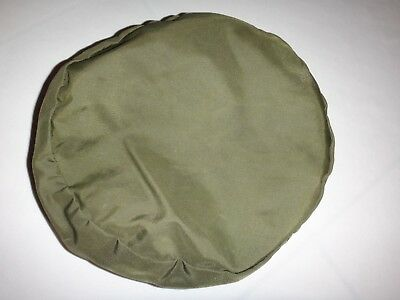 Green OD Nylon MILITARY SERVICE CAP COVER *Extra Large, Oversized*