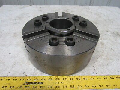 "Howa H037M12 12"" Hydraulic CNC Power Lathe Chuck 3 Jaw W/3-1/2"" Hole"