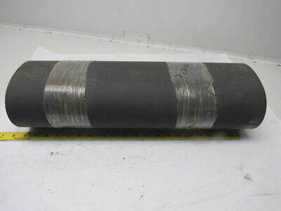 "2 Ply Gray Rubber Smooth Top Conveyor Belt 340-3/4"" x 21"" x .0625"" Endless"