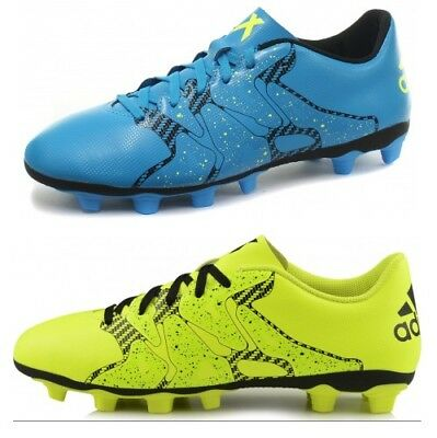 adidas X 15.4 FxG Mens Flexible Ground Football Boots ALL SIZES AND COLOURS
