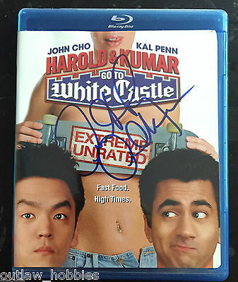 Harold & Kumar White Castle Anthony Anderson Autographed Signed Blu Ray DVD COA