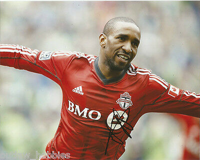 Toronto FC Jermain Defoe Autographed Signed 8x10 Photo COA