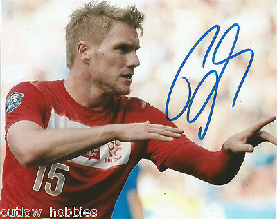 Poland Damien Perquis Autographed Signed 8x10 Photo COA