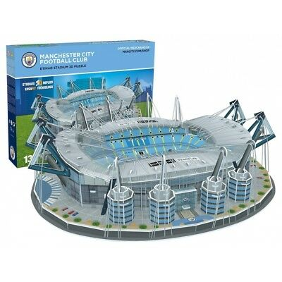 Manchester City FC Eithad Football Stadium 3D Jigsaw Puzzle - Brand New!