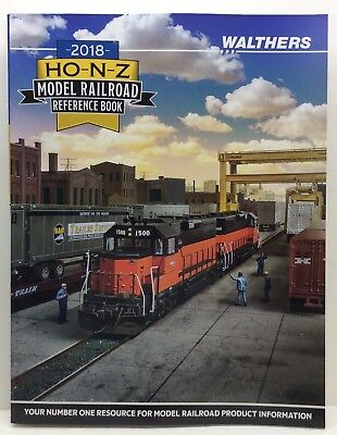 Walthers 913-218 2018 HO N & Z Scale Reference Guide
