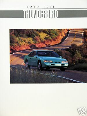 1994 Ford Thunderbird coupe new vehicle brochure