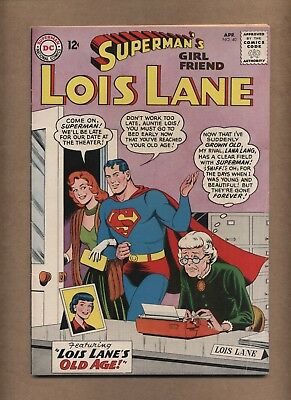 Superman's Girlfriend Lois Lane 40 (VG) Silver Age; DC Comics; 1963 (c#15922)