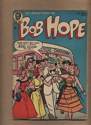 Adventures of Bob Hope 29 (GVG) comedy celebrity 1954 DC Comics (c#15864)