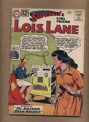Superman's Girlfriend Lois Lane 35 (G) Silver Age; DC Comics; 1962 (c#15917)
