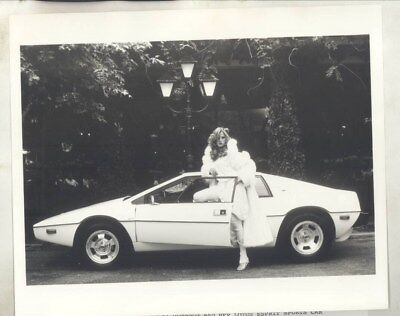 1979 Lotus Esprit Penthouse Pet of Year Vicki Johnson ORIGINAL Photo wy4935