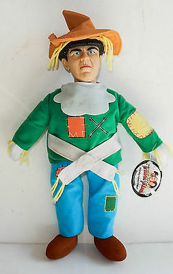 "Three Stooges Moe Soft Doll Toy 18"" Scarecrow 2001"