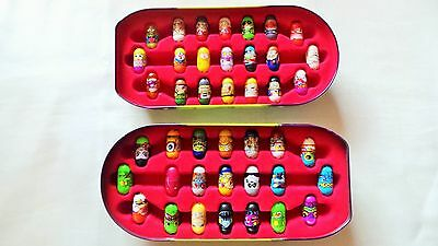 42 Mighty Beanz In Collectors Tin