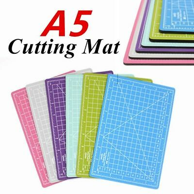 A5 Cutting Craft Mat PVC Self-Healing Non-Slip Pad Office Home Paper DIY Tool