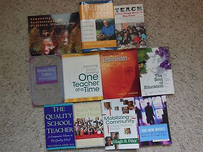 Mixed Lot Of 11 Books On Effective Teaching