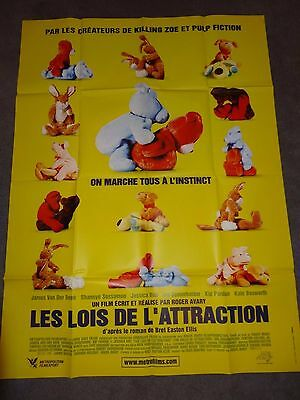 The Rules Of Attraction Roge Avary Bret Easton Ellis ORIGINAL FRENCH FILM POSTER