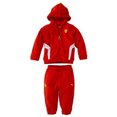 Puma Winter Ferrari Infant Jog Suit 761588-02